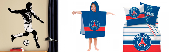 Chambre enfant club Paris Saint Germain