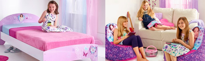 Chambre enfant Violetta Disney Channel