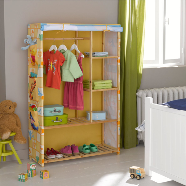 neuf penderie armoire winnie l 39 ourson disney. Black Bedroom Furniture Sets. Home Design Ideas