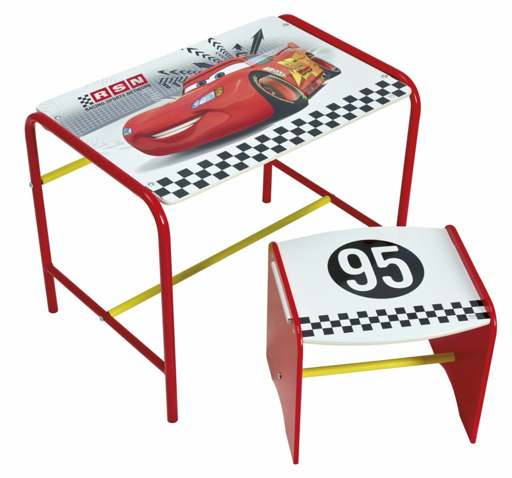 bureau cars disney bureau enfant coloris rouge disney cars achat vente bureau b b enfant bureau. Black Bedroom Furniture Sets. Home Design Ideas