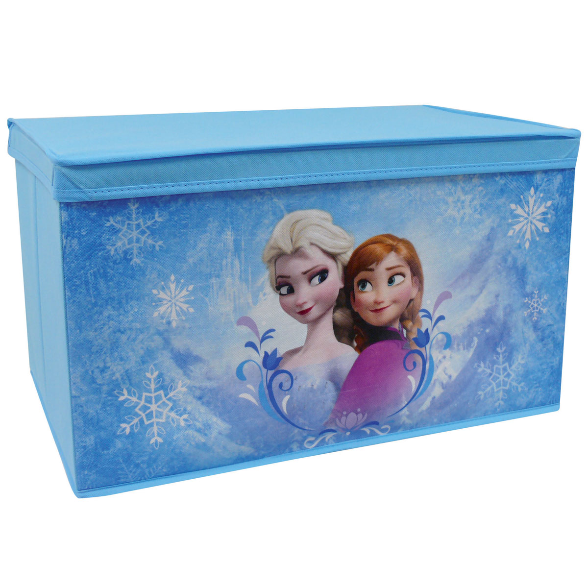neuf coffre jouets en tissu pliable la reine des neiges disney ebay. Black Bedroom Furniture Sets. Home Design Ideas
