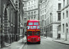 London bus, photo murale, 160 x 115 cm, 1 part