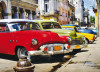 Cuban cars, photo murale intissée, 160x110 cm, 1 part