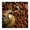 Coffee beans, Photo pour accrocher au mur faite en plexiglass 29 x 29 cm