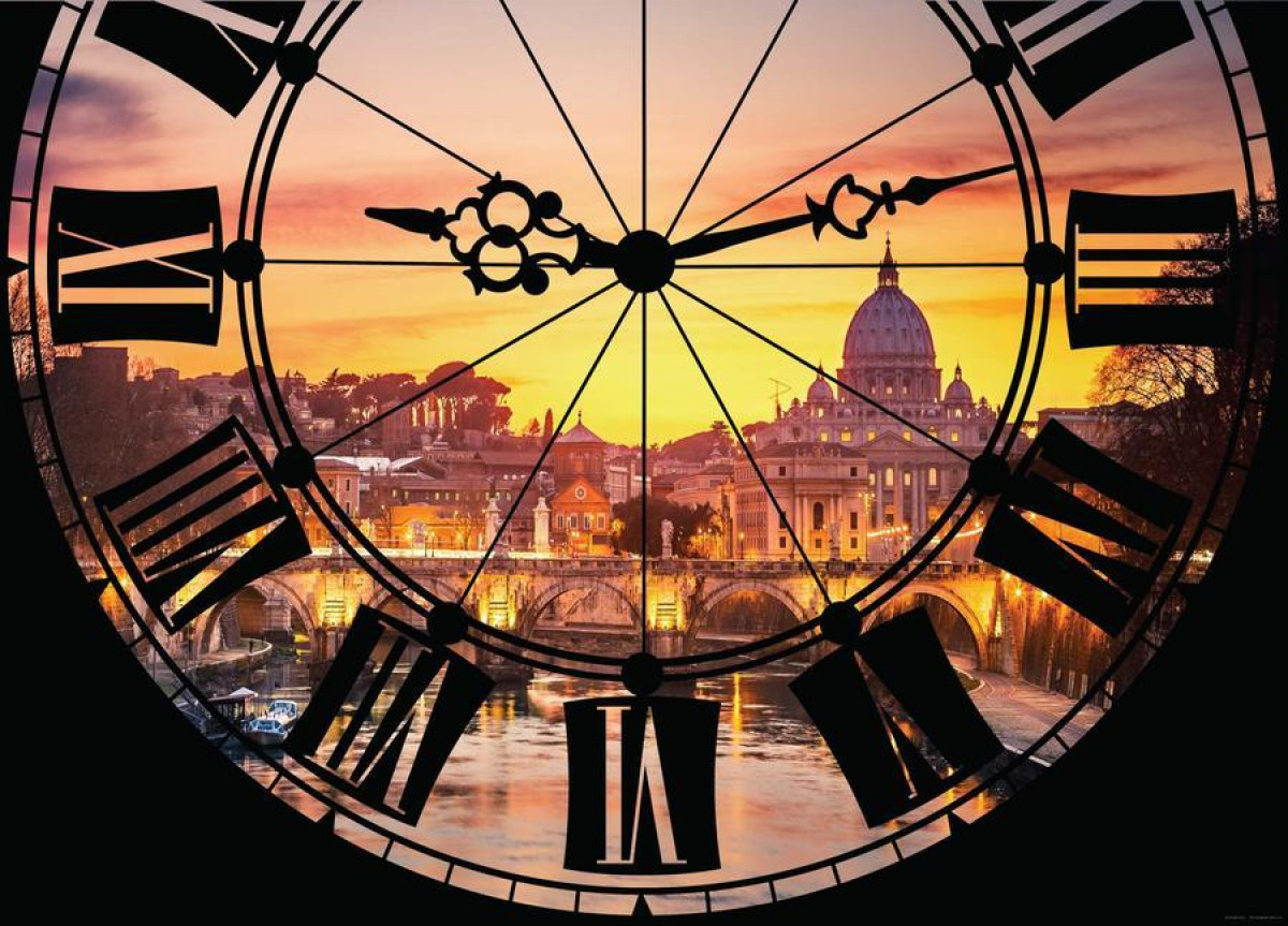 Clock, photo murale intissée, 160x110 cm, 1 part