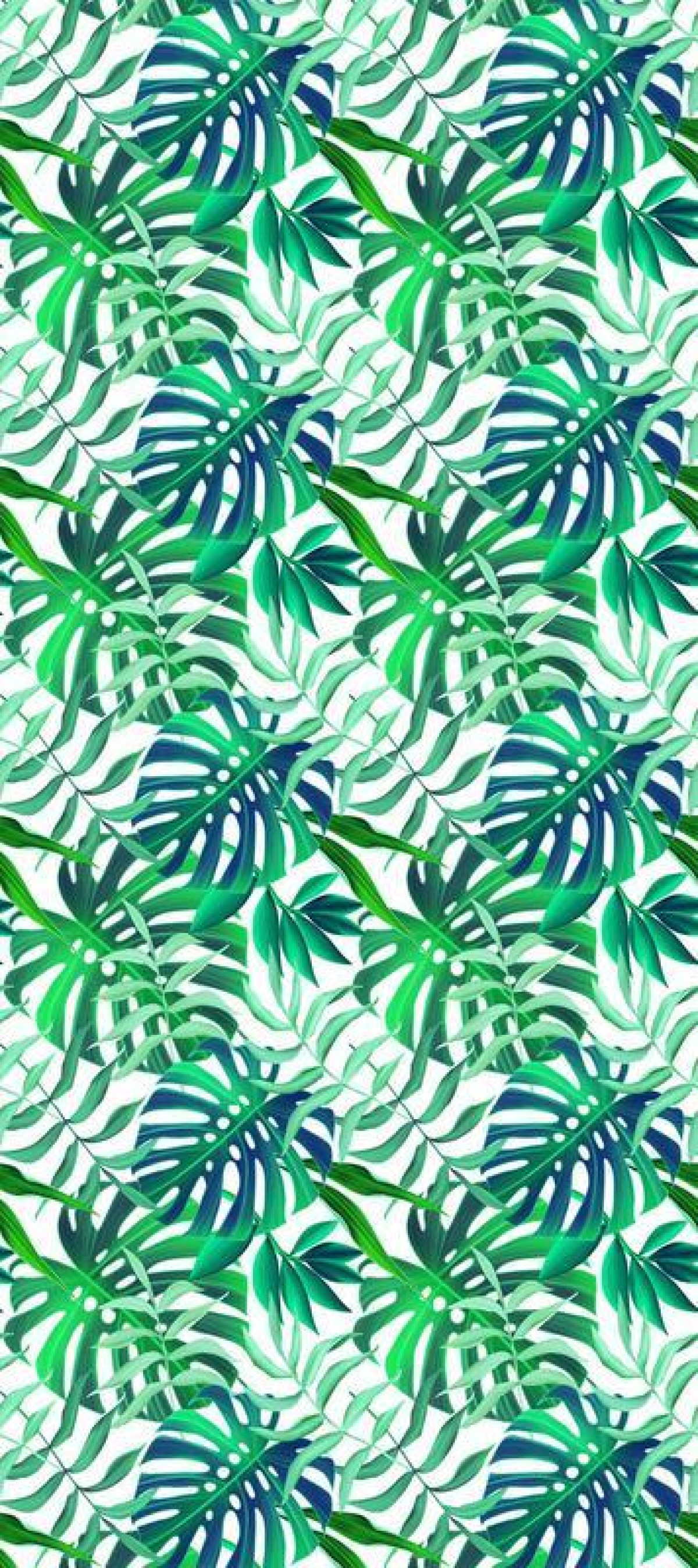 Palm Leaves, Papier peint, 0,53m x 10,05m
