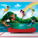 Papier peint La Vallée du printemps Disney Fairies 360X255 CM