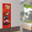 Poster porte Flash 95 Cars Disney 90X202 CM