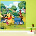 Papier peint XL Winnie l'Ourson Disney 180X202 CM