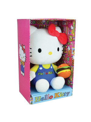 HELLO KITTY PELUCHE RETRO FOOD±20 CM