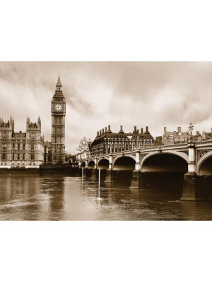 London Big Ben, photo murale, 360x254 cm, 4 parts