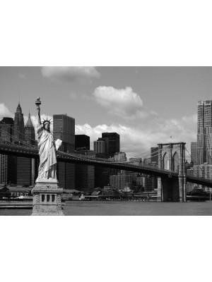 Statue of Liberty, photo murale, 360x254 cm, 4 parts