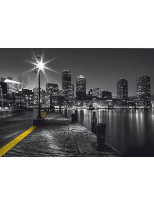 Boston embankment, photo murale, 360x254 cm, 4 parts