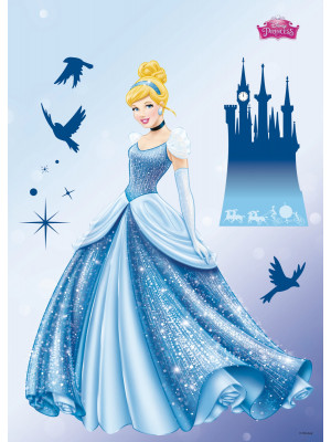 Stickers géant Cendrillon Disney