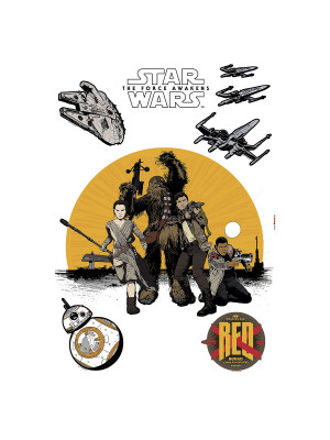 Stickers Décoration Murale Star Wars Resistance