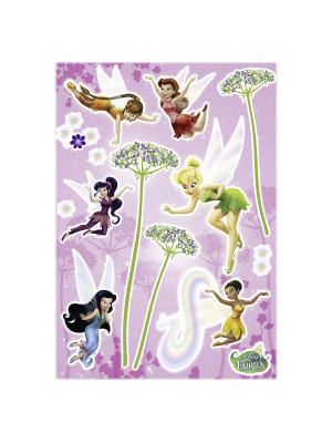 Stickers Muraux Fée Clochette repositionnable Disney fairies