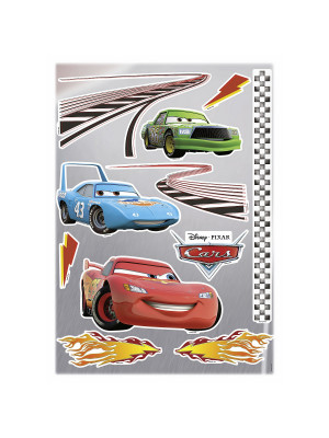 Stickers Muraux Disney Cars Flash Mc Queen et ses amis  50x70cm