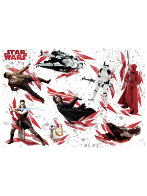 "Stickers muraux géants ""Star Wars The Last Jedi"""