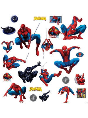 25 Stickers Spiderman Marvel The amazing Spider-man