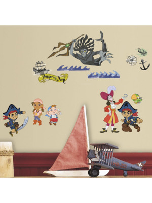 27 Stickers Jake et les Pirates du pays imaginaire Disney