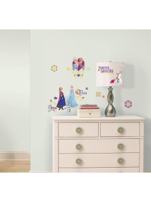 27 Stickers Anna et Elsa La Reine des Neiges Disney Frozen