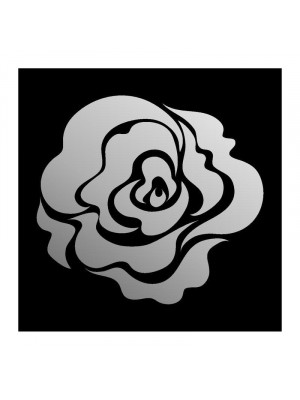 Decorative miroir rose, 60 x 55 cm