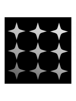 Large decorative miroir stars, 85 x 65 cm