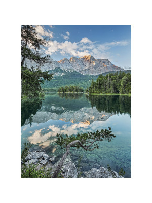 Mirror Lake Photo murale Lac Miroir - 184 x 254 cm