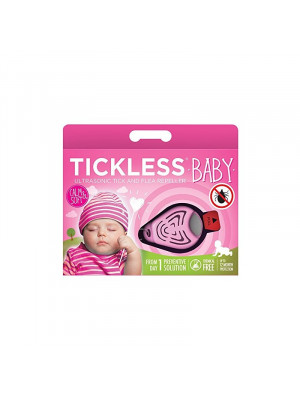 Tickless, repousse tique  Bébé rose