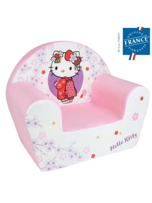 HELLO KITTY FAUTEUIL CLUB ENFANT ORIGINE FRANCE GARANTIE