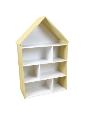 SCANDIWOOD RANGEMENT MAISON 7 CASES H.114 X L.73,5 X P.30 CM