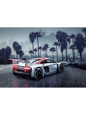 Audi R8 L.A Photo murale Los Angeles - 368 x 254 cm