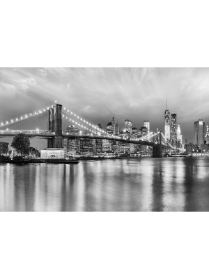 Brooklyn B/W Photo murale - 368 x 254 cm