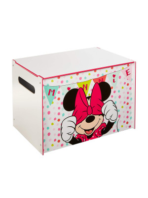 Coffre à jouets Minnie Mouse Disney