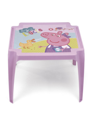 Table en plastique 50x55x44cm de EONE-Peppa Pig