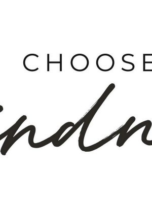 "Sticker Mural Citation ""Choose Kindness"" Optez pour la gentillesse"