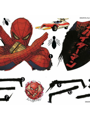 Stickers Muraux Géant Marvel Spider Man Japon