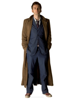 Figurine en carton  DOCTOR WHO  Le Docteur (David Tennant)  185  cm