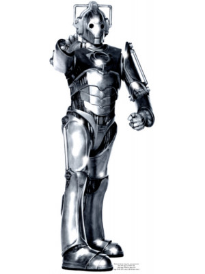 Figurine en carton  DOCTOR WHO  cyberman  191  cm