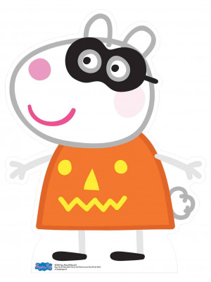 Figurine en carton  Suzy Sheep (Peppa Pig Halloween)  73  cm
