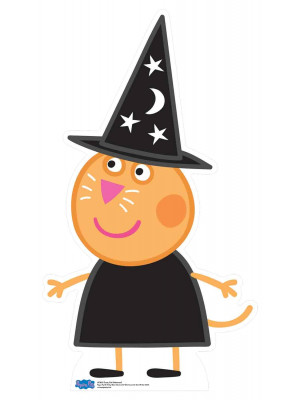 Figurine en carton  Cat Candy (Peppa Pig Halloween)  94  cm