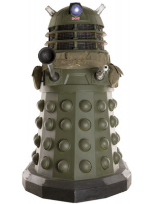 Figurine en carton  DOCTOR WHO Dalek temps de guerre (Ironside)  173  cm