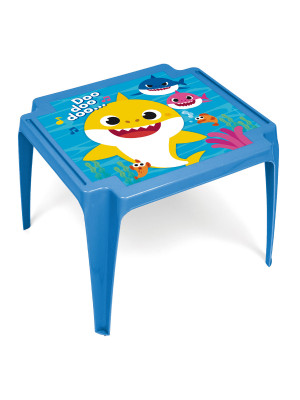 Table en plastique 50x55x44cm de NICKELODEON-Baby Shark