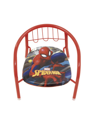 Chaise en métal 35.5x30x33.5cm de MARVEL-Spiderman