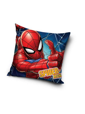 "Coussin Spiderman ""index levé"" Disney Marvel 40x40cm"