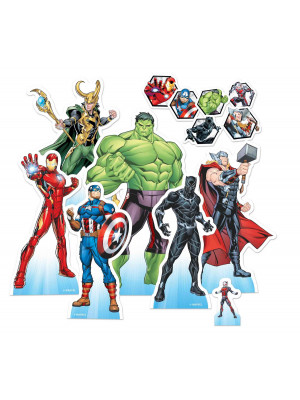Mini-Figurines en carton Marvel AVENGERS  23  cm