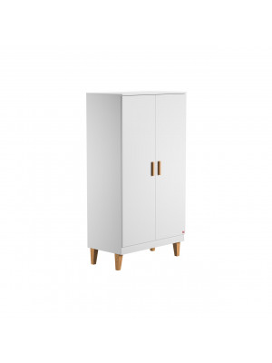 Armoire 2 portes Blanche collection Lounge Vox