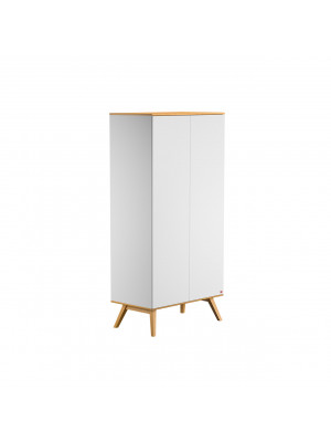 Armoire 2 portes Blanche collection Nature Vox