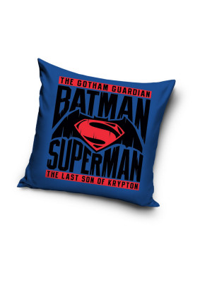Coussin Batman & Superman Dc Comics 40x40cm