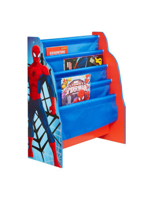 Bibliotheque bois Spiderman Marvel